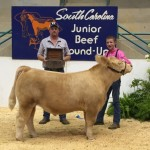 Reserve Champion Steer- South Carolina Junior Beef Round Up